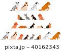 ベクター 動物 犬のイラスト 40162343