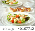 豆腐とエビのサラダランチ 紅茶つき(横位置) 40167712