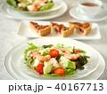 豆腐とエビのサラダランチ 紅茶つき 40167713