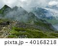 山 登山 登山道の写真 40168218