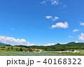 晴れ 夏 北海道の写真 40168322