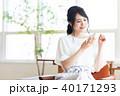 若い女性(スマホ) 40171293