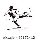サッカー選手 40172412