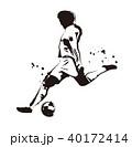サッカー選手 40172414