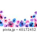 花 植物 ナチュラルのイラスト 40172452