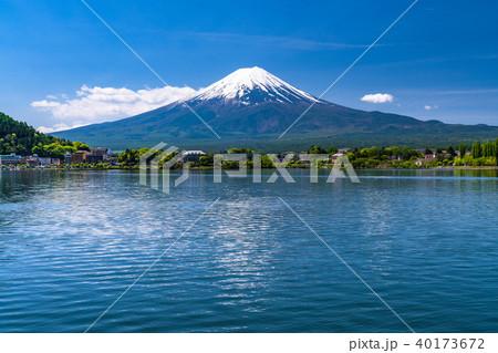 《山梨県》初夏の富士山・河口湖 40173672