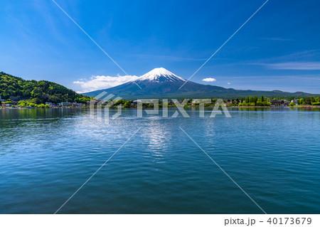《山梨県》初夏の富士山・河口湖 40173679