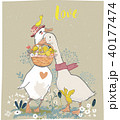 鳥 イラスト 挿絵のイラスト 40177474