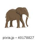 ぞう ゾウ 象のイラスト 40178827