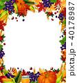 葉 葉っぱ ポスターのイラスト 40178987