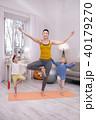 親 体操 女の写真 40179270