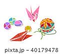 昔の日本の遊び 40179478