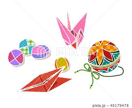 昔の日本の遊びのイラスト素材 40179478 Pixta