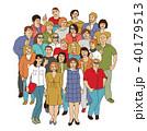 いいね 人々 人物のイラスト 40179513