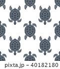 かめ カメ 亀のイラスト 40182180