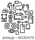 フォン 電話 携帯電話のイラスト 40183470