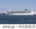 大型客船 横浜港 ノルウェージャンジュエルの写真 40184819