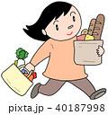 買い物 買物 ショッピングのイラスト 40187998