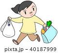 買い物 買物 ショッピングのイラスト 40187999