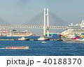 ベイブリッジ 豪華客船 横浜港の写真 40188370