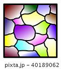 ステンドグラス 40189062