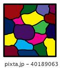 ステンドグラス 40189063