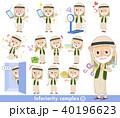 Arab Kandura wearing old men_complex 40196623
