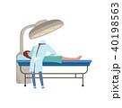患者 外科医 イラストレーションのイラスト 40198563