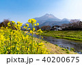 由布院 由布岳 山の写真 40200675