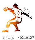 野球 ベースボール 高校野球のイラスト 40210127