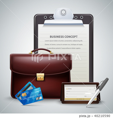 Business Realistic Concept 40210590