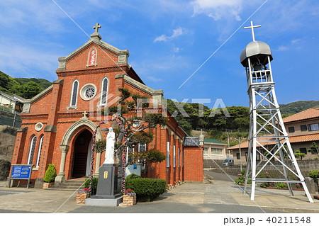 五島 中通島 青砂ケ浦教会 40211548