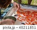 金魚掬い ポイ 金魚の写真 40211851