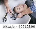 女性 ヘアサロン 髪の毛の写真 40212390