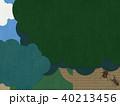 背景-夏休み-森-カブトムシ 40213456