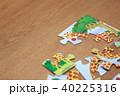 パズル (知育 子育て 育児 教育 子供部屋 キッズルーム おもちゃ 玩具 小物 ピース キリン) 40225316