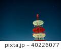 コピースペース 星空 夜の写真 40226077