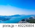 関門海峡 関門橋 海の写真 40226804