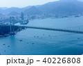 関門海峡 関門橋 都市の写真 40226808