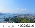 関門海峡 関門橋 都市の写真 40226810