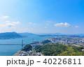 関門海峡 関門橋 都市の写真 40226811