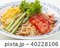 冷やし中華 ごまだれ 食べ物の写真 40228106