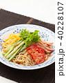 冷やし中華 ごまだれ 食べ物の写真 40228107