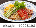冷やし中華 ごまだれ 食べ物の写真 40228108