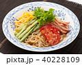 冷やし中華 ごまだれ 食べ物の写真 40228109