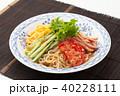 冷やし中華 ごまだれ 食べ物の写真 40228111