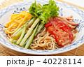 冷やし中華 ごまだれ 食べ物の写真 40228114