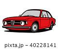 ベクター 自動車 イタリア車のイラスト 40228141
