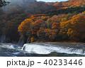 【紅葉最盛期】吹割の滝・吹割渓谷の紅葉(午後) 40233446