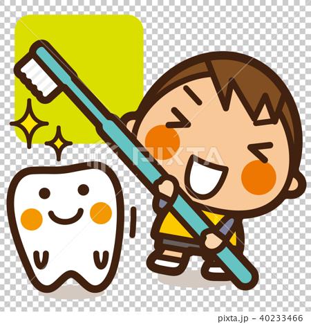 がっこうKids 虫歯予防男子 歯みがき 40233466